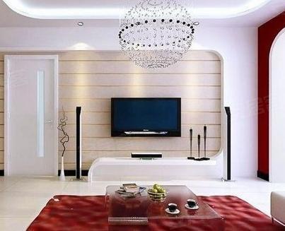电视墙装修设计图