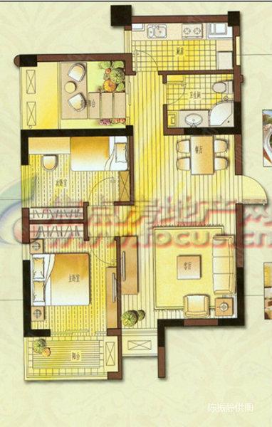 90平方3室2厅装修图,90平方2室一厅装修图,100平方3房2厅高清图片