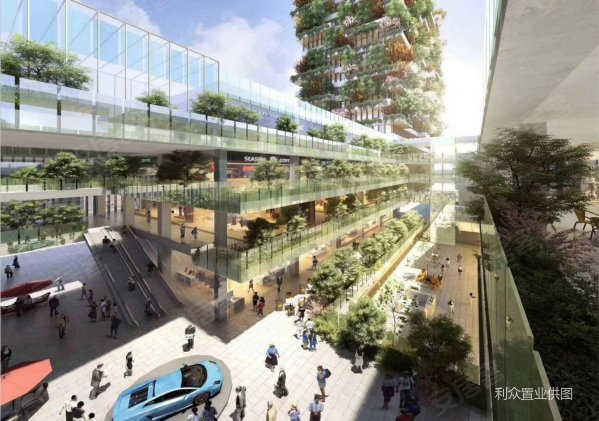让你住在森林里 财富中心 垂直森林建筑 民用水电 地铁口