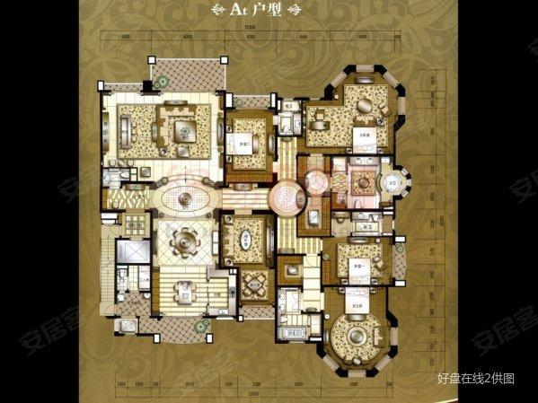 星河湾半岛 空中别墅 523方大平层 全新未住 方便看房有匙