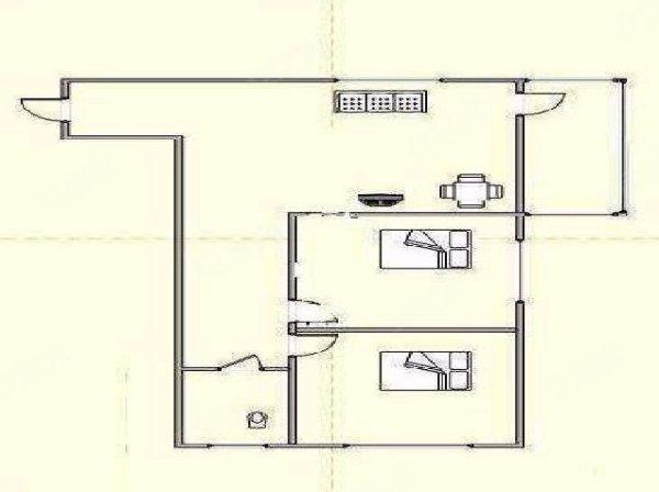 卷丹子房横切手绘图