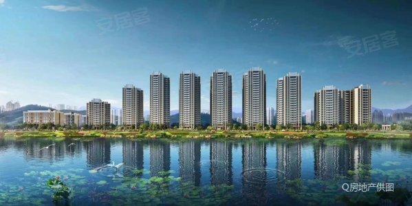 外地可买 珠海白焦新城 龙光玖龙湖 精装复试 一线河景无遮挡