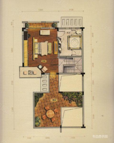 花园别墅,100万豪华装修,送100平方地下室, 金山谷别墅二手房,