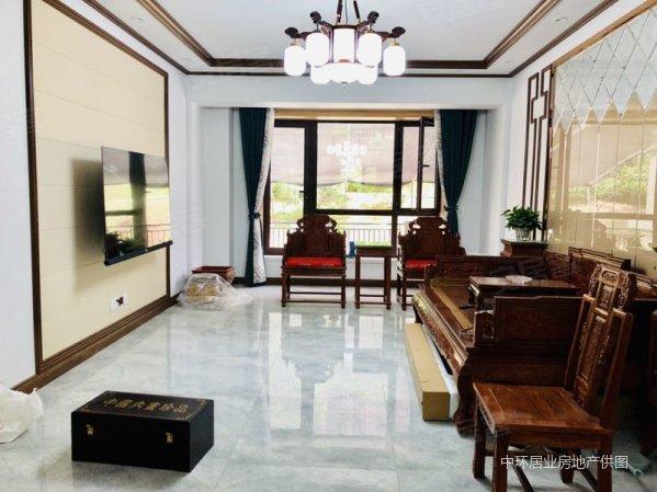 豪华装修 送下跃式40平米庭院 二期就这一套 富力城 学区房