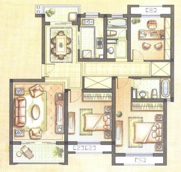 上海 二手房/户型图