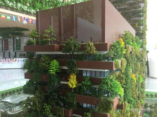 地铁口cbd 亚洲首座垂直森林公寓 明发财富中心 江北新区