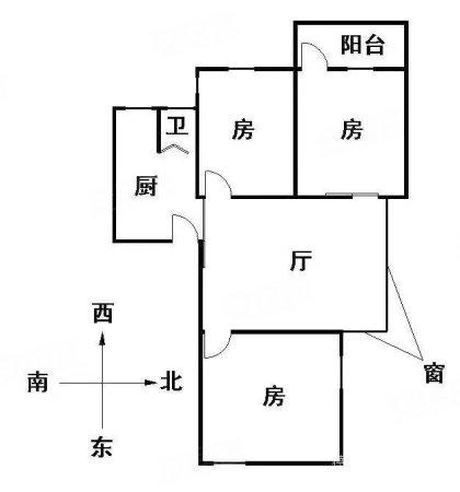 恤孤院路 框架结构 全明屋都有窗户 大两房可改三房 培正学位