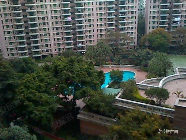 锦城花园东南望花园美景 精装三房