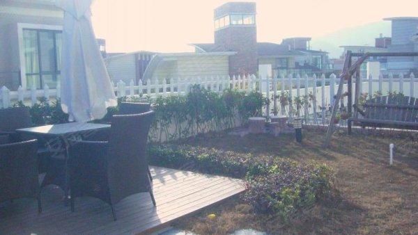 林水山居 精装修 送200方露台 园林设计屋顶花园