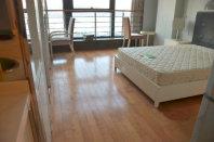 金龙大厦酒店公寓带阳台可长租可短租拎包入住