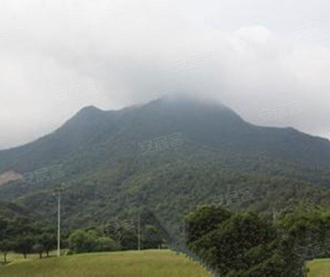莲湖山庄小区实景图