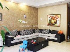 泛海国际精装4居3卫公寓 设施齐全 物业供暖家具齐全舒适整洁