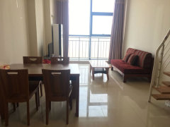 实拍图 力高滨江国际 复式公寓 住家办公两相宜 直接看房