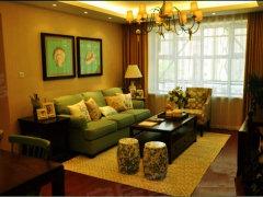 新都麦凯乐鑫源向上3室2厅南北向豪华装修仅租4800