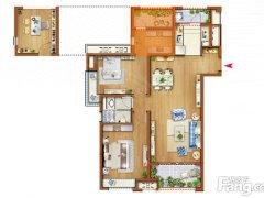 新房!期房!不是出租房!嘉境售楼处!105平米 106.8万