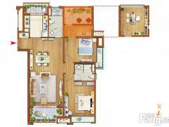 不是出租房!期房!卖新房!中海开发商!115平米104.3万