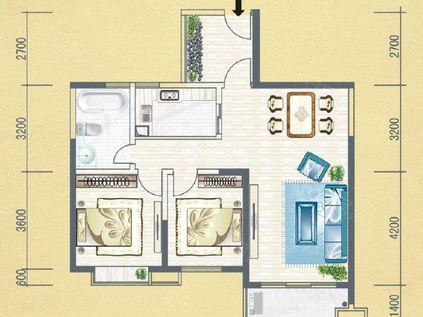 租金有限 温馨无限 不合常理的好房子 路过不容错过建业五栋旁