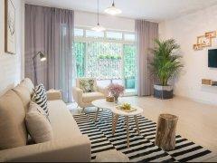 旗馨园小区1室1厅1卫,押一付一,精装修。