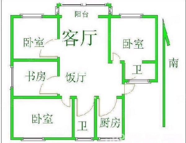 易初莲花 星沙大道 华润凤凰城2期 居家三房 真实图片