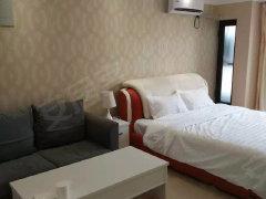 泉舜正大旁 宝龙精装一室都市清新风格装修 给您一个温馨的家!