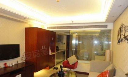 五星级标准豪华装修,奥克伍德酒店公寓房,黄龙商务圈独一无二高清图片