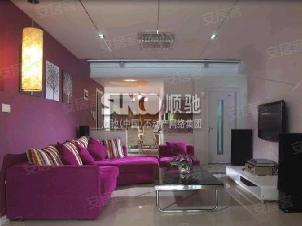 广场 2室2厅100平米 豪华装修 押一付三