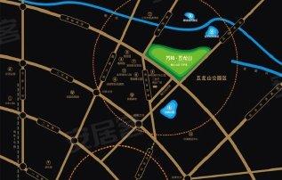 地址:蜀龙大道熊猫基地旁五龙山公园内 -欧城雅典高清图片