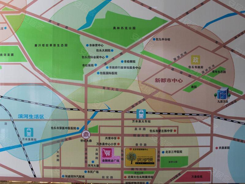 包头滨河风景-交通图(32) - 包头安居客