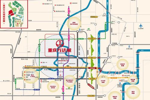融创万达城     项目整体划分文化旅游区和旅游新城区,其中文化旅游区