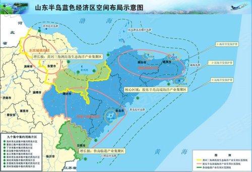 根据《青岛市蓝色经济区建设发展总体规划发展纲要》,超过千亿元的