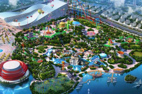 项目整体划分文化旅游区和旅游新城区,其中文化旅游区规划有23.