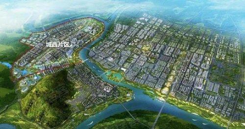 怀远涡南新区规划图