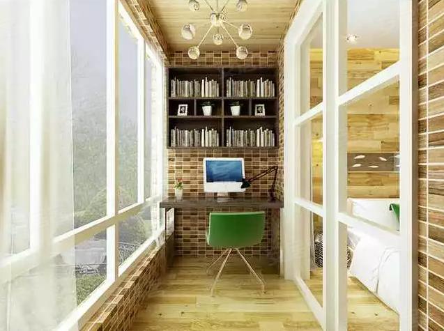 客厅阳台要隔断 它们之间的利与弊 -阳台设计精选