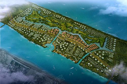 绿地长岛:约75-130平电梯花园洋房9980/平起