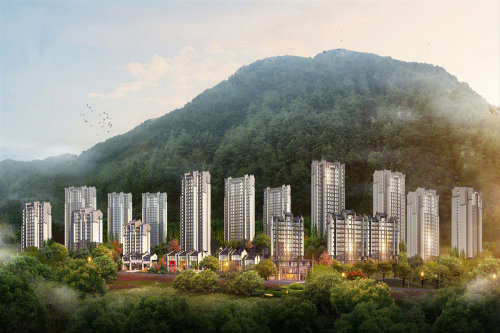 位于闽侯县竹岐金水湖风景区旁,项目周边拥山,林,江,湖等生态资源,揽