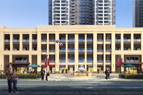 长沙楼盘 雨花 汽车南站 中建璟和城   其次,项目的商业氛围也非常