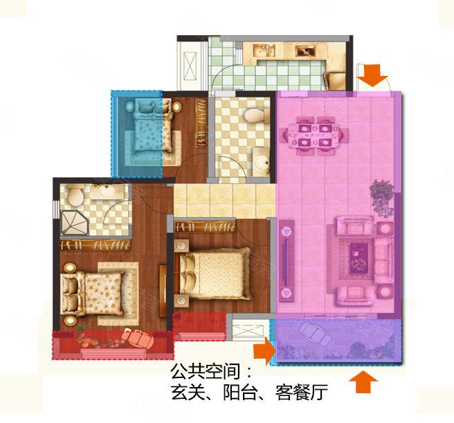三室一厅的家庭电路接线图