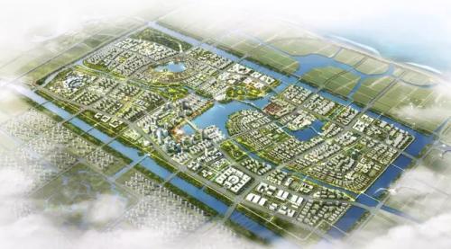 杭州湾滨海新城启动区规划图