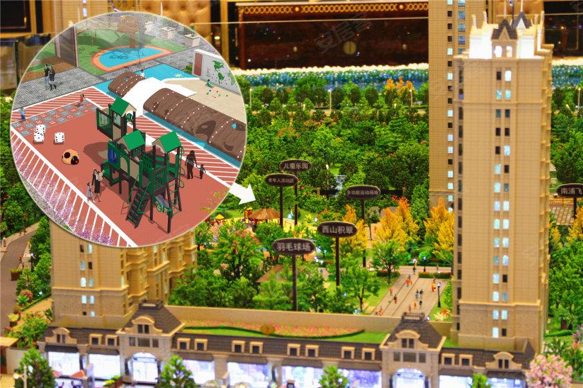 地铁口 公园旁 蓝光雍锦半岛主题样板房即将对外开放