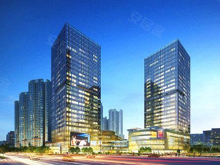 项目效果图 从效果图上看建筑外立面为现代风格