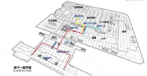 自贡龙湖小学平面图