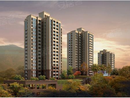 效果图:项目自身将会打造高层住宅,外观品质感较强。