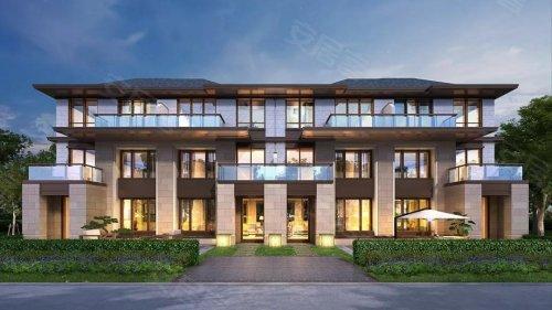 """选择新中式风格,打造联排 合院的""""新院墅""""产品,承载传统围院建筑文化"""