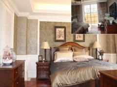 卧室接观景阳台,欧式玻璃推拉门保证了房间的采光、通风效果