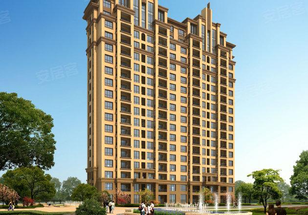 效果图 项目将会打造高层住宅,外立面美观大气,品质感较强