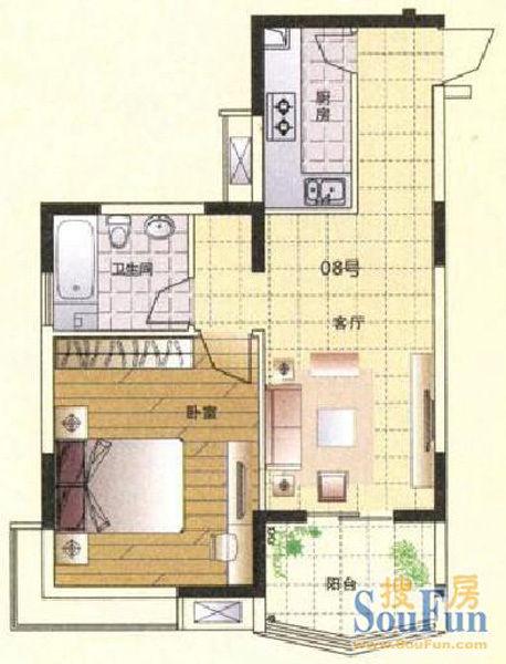 楼房入户水管结构图