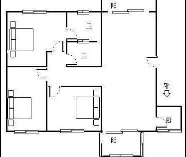 花园玉学区铁口别墅房别墅区9层洋房林地豪装算电梯也南门面积吗的图片