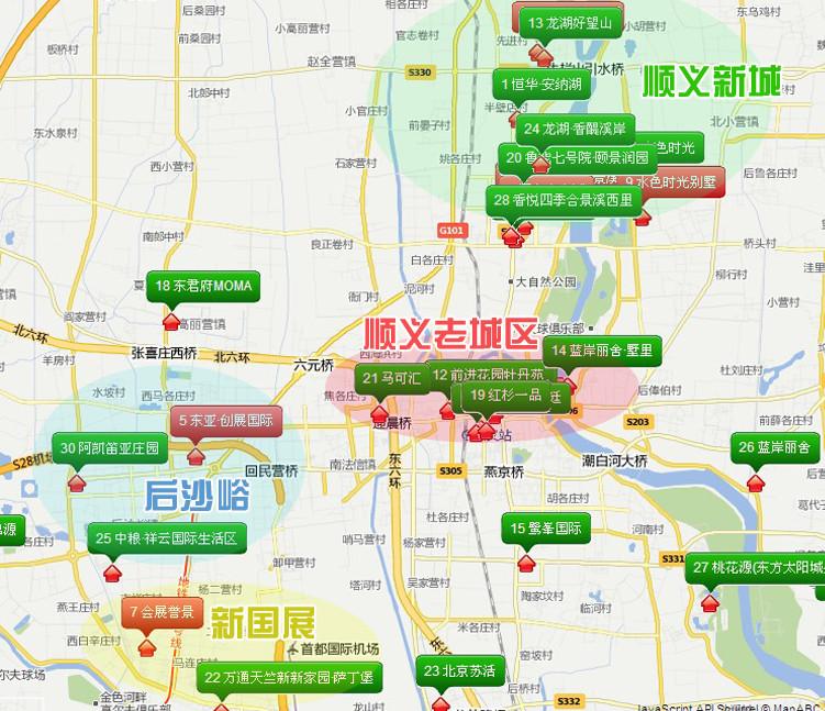 顺义马坡新城评测 昨天今天和明天 –北京 热点区域图片