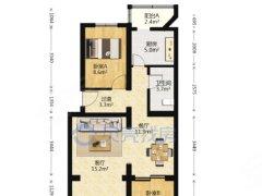 北京大兴枣园枣园小区 3室1厅1卫出租房源真实图片