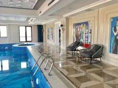 北京朝阳CBD国贸豪宅 山水铂宫 顶层别墅  带大泳池  45万月出租房源真实图片
